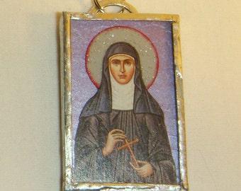 St Gertrude Pendant inv1682