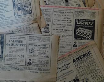 Antique advertisements 1925s pack, Vintage ephemera, Bullet journal, Junk journal