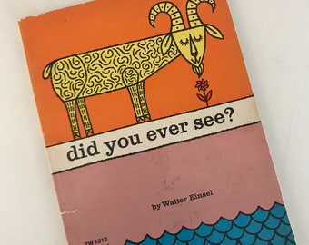 1967 Did You Ever See? by Walter Einsel - Scholastic Book Services