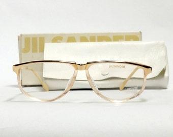 f40a10e8ad Jil Sander vintage eyeglasses frame - mod 209 - German eyewear - women  eyeglasses in unworn dead stock condition