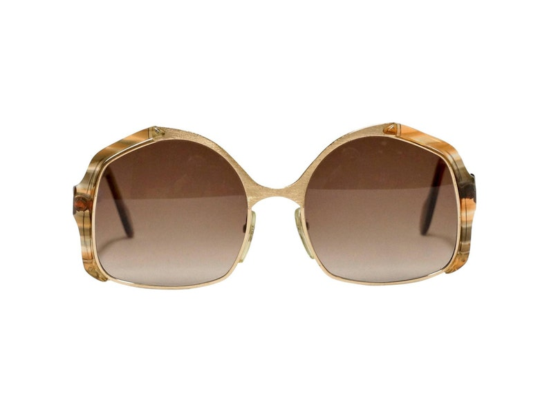 a4b03eee40 Vintage Sunglasses Neostyle Office 5 Oversized 70s womens