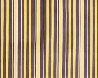 Vintage Corduroy Fabric - Striped Cotton Fashion Fabric - new old stock condition - sold by the meter