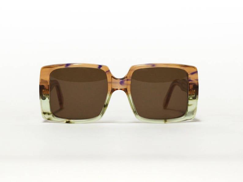 4246b159085 Des années 70 GIVENCHY lunettes de soleil vintage grand carré