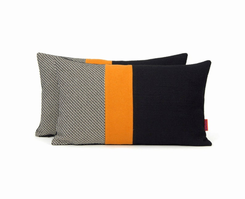 EllaOsix  Modern Color Block Pillow 30x50 cm / image 0