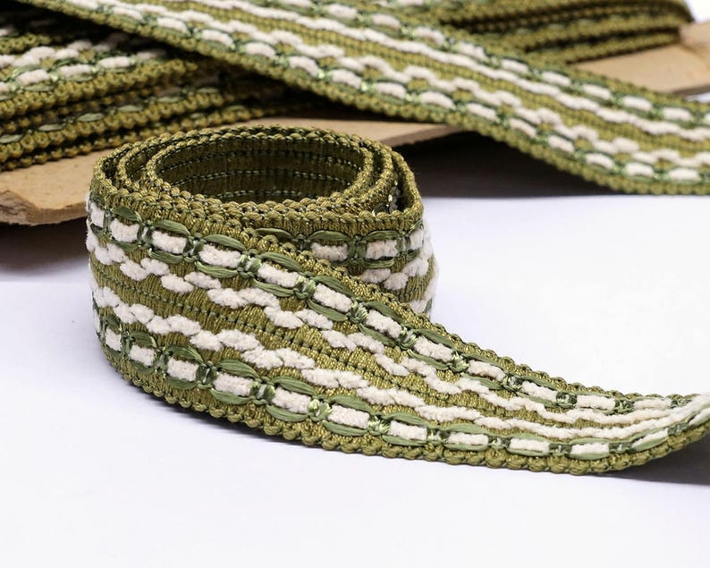 Vintage Passementerie Trim By The Yard Green Home Decor