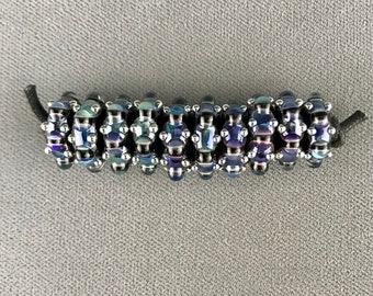 Royal Psyche Discs (10) Lampwork Glass Beads by Shani Barrett