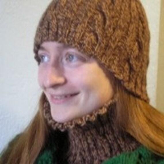 Ortega Thick Knit Winter hat in The Elderly Warm hat