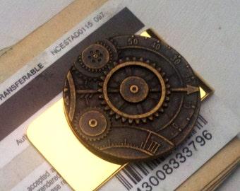 Steampunk Money Clip