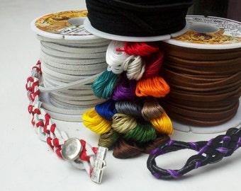 Custom team colors leather bracelet
