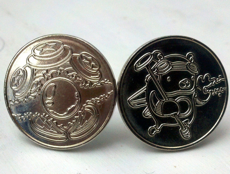 Pinball Wizard cuff links image 0