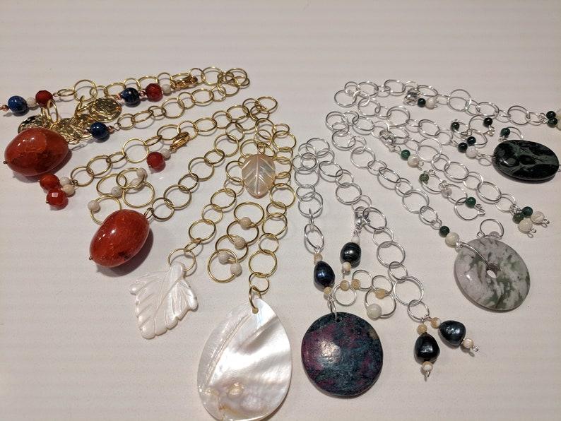 Gemstone Chain Row Counters image 0