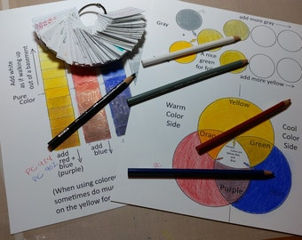 Color Theory 101 Made Easy with Pencils