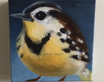 Fine Art Painting- Meadow Lark