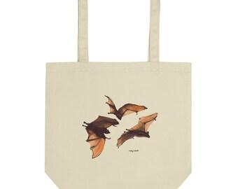 Halloween Bats- Eco Tote Bag