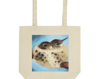 Hummingbird Nest- Eco Tote Bag