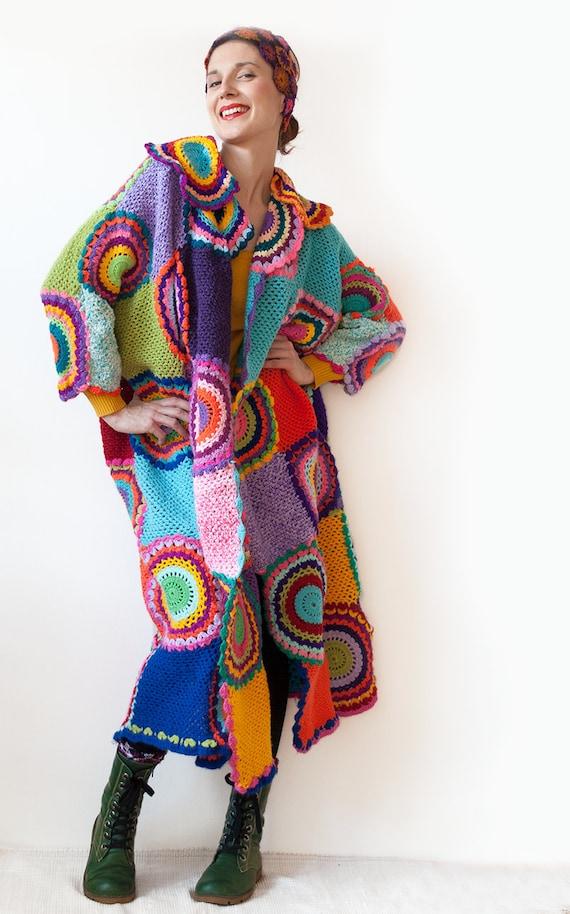 Plus Size Clothing Trendy Extra Long Coat Cardigan Sweater