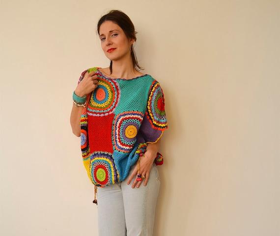 Plus Size Clothing Womens Sweater Vest Crochet Light Etsy