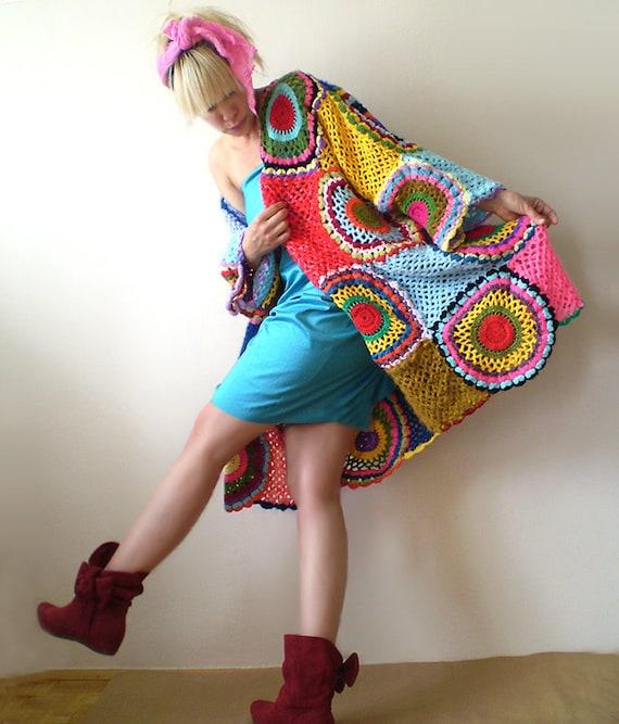 Plus Size Clothingfunky Cardigan Women S Sweater Etsy