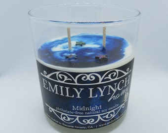 Midnight Soy Candle - In stock