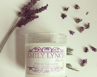 French Lavender Soy Candle - In stock