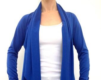 Comfy Cozy Cardigan ~ Royal Blue by So-Fine