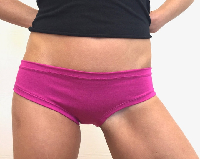 Hot Pink Bamboo Panties by So-Fine