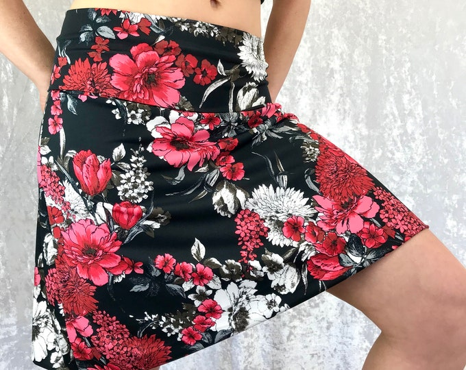 Red Floral - Inspire ~ Skirt n' Top by So-Fine