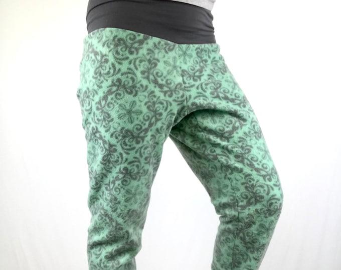 Minty Swirls Fleece - Sublime