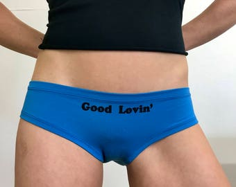 Good Lovin' - Sky Blue - So-Fine Bamboo Panties