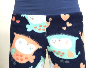 Loving Owls - Navy Blue- Party Pyjama Pants by So-Fine