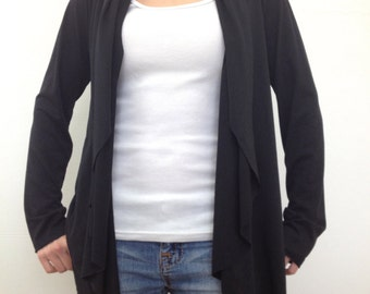 Comfy Cozy Cardigan ~ Black by So-Fine