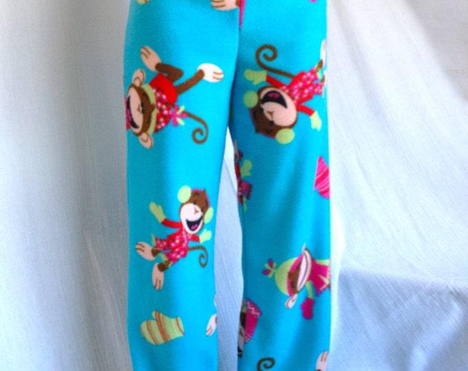 Winter Monkey Party Pyjama Pants by So-Fine