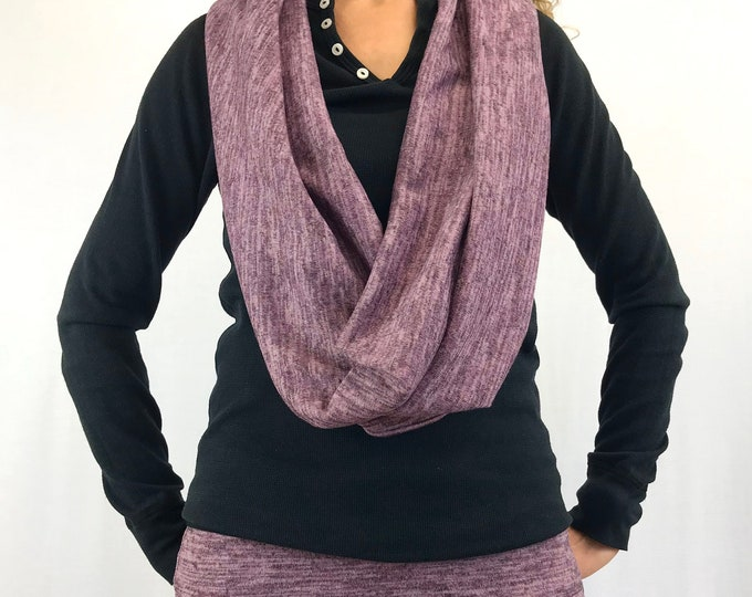 Heather-Pink - Sweater-Knit ~ D.D Infinity