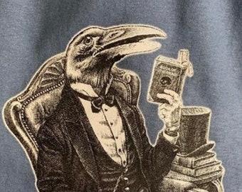 Grateful Dead T Shirt Uncle John's Band Crow Screen Printed Tshirt Tee