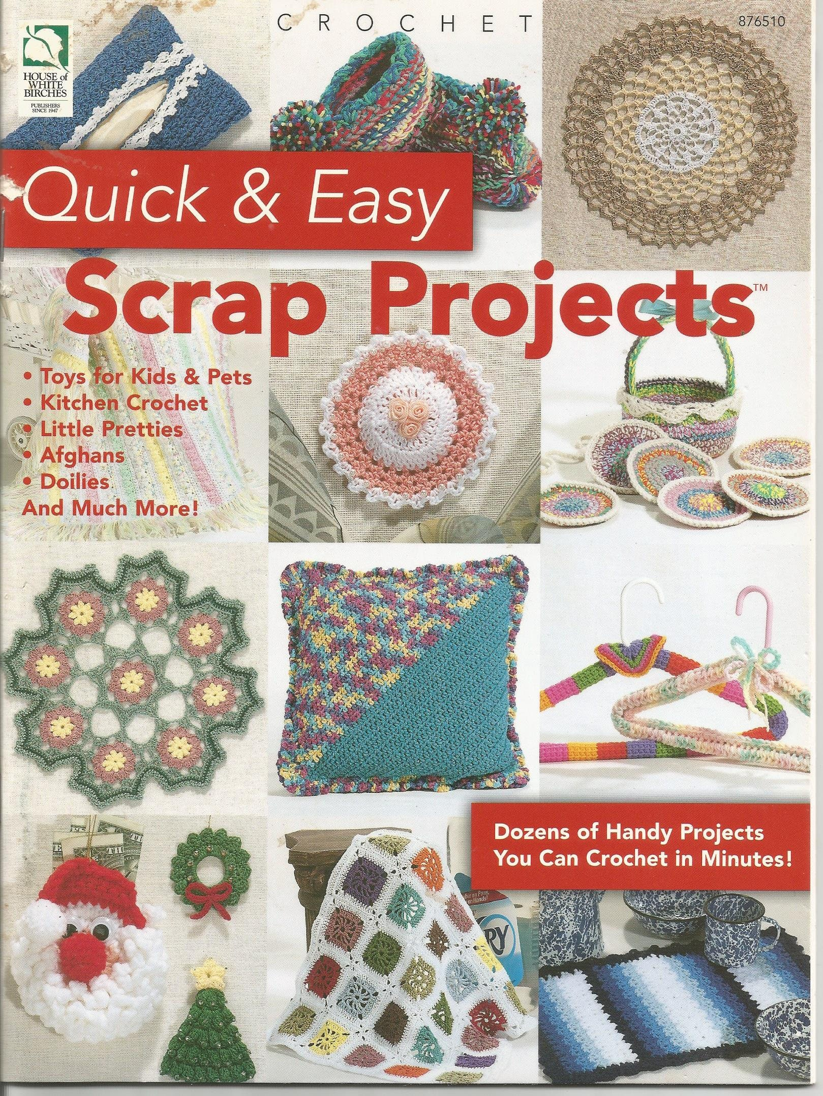 Scrap Projects Quick Easy Crochet Patterns Doll Patterns Etsy