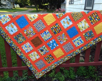 On the Go  lap quilt Price Reduced