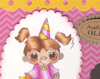1652 Party Polly Digi Stamp