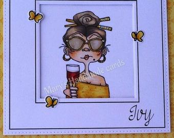 799 Celebration Glamour Nana Digi Stamp