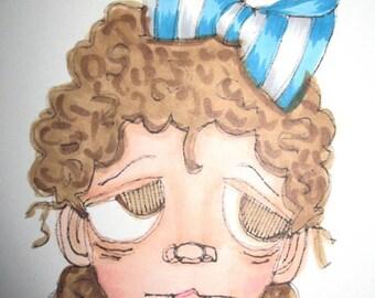 1026 Lil Lillie Digi Stamp