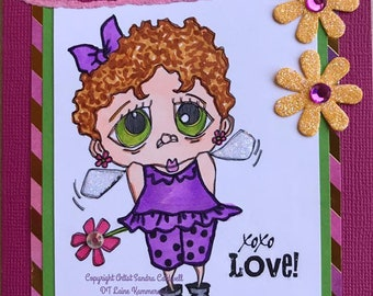 2240 Tiny Fairy Gal Digi Stamp