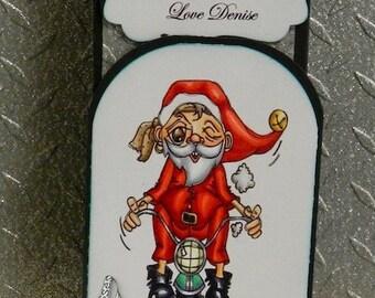 3041 Easy Santa Digi Stamp