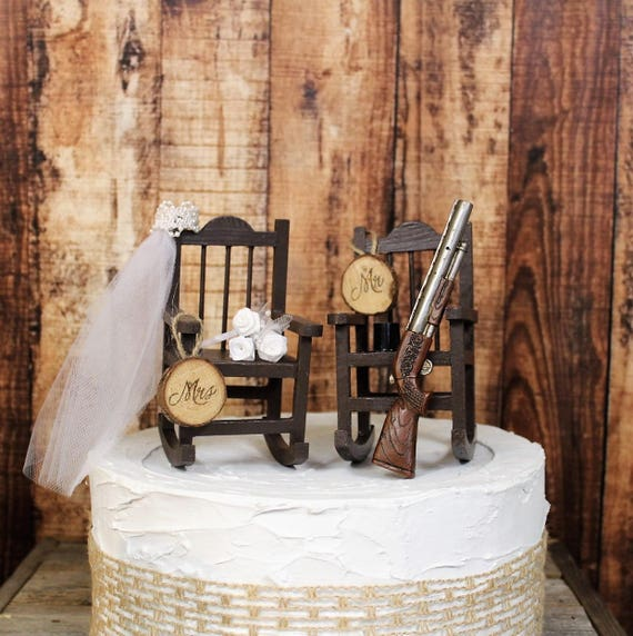 Jagd Hochzeitstorte Topper Braut Und Brautigam Hochzeit Etsy