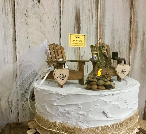 Jagd Kuchen Deckel Bogen Sie Jagd Camping Jager Hochzeit Etsy