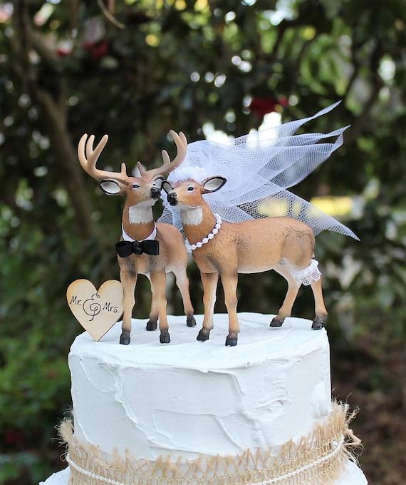Hirsch Kuchen Deckel Jagd Hochzeitstorte Kuchen Buck Und Etsy