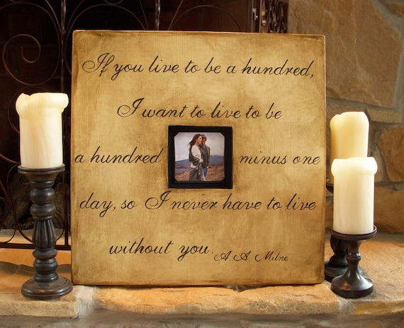 1 CUSTOM Wood Picture Frames with Quotes Hand Painted 20 x