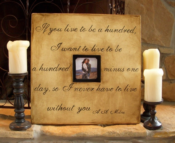 Frames With Quotes On Them: 1 CUSTOM Wood Picture Frames With Quotes Hand Painted 20 X