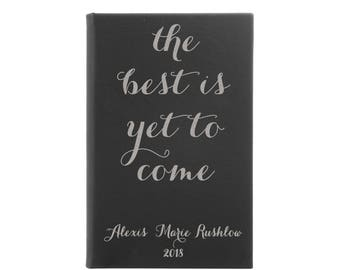 Personalized Leather Journal, Leather Notebook, Customized Journal, Travel Journal, Graduation Gift, Journaling, Writing  --28320-LJ05-035