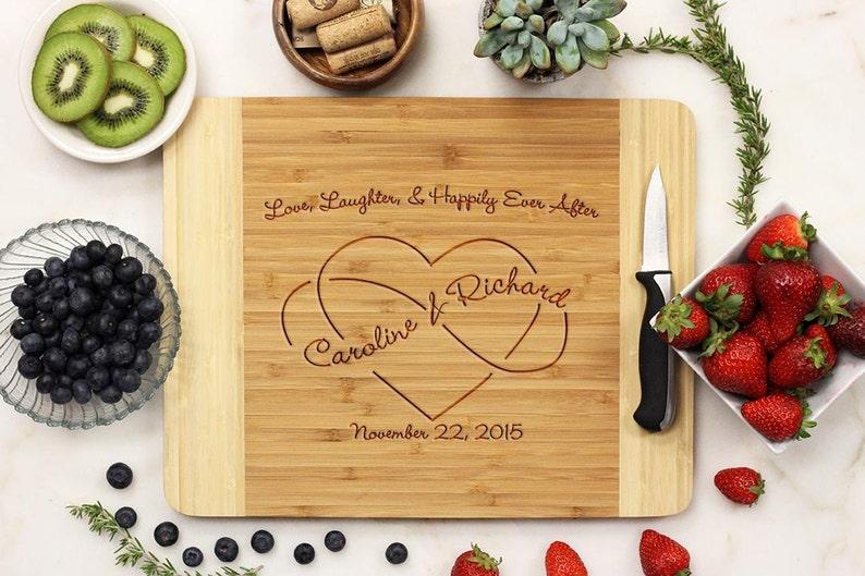Custom Engraved Cutting Board Valentine/'s Day Wedding gift Cutting board --21004-CUTB-001 Anniversary gift Personalized Cutting Board