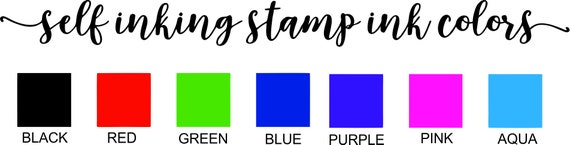 Emailed Stamp Self Inking Office Stamps For