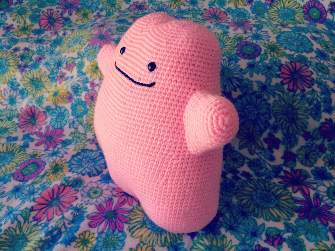 Crochet Patternamigurumi Ditto Pokemon Plush Etsy